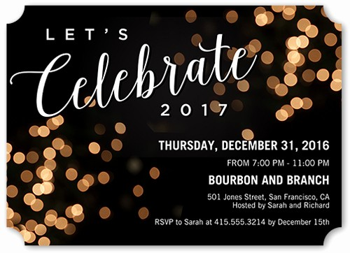 Year End Party Invitation Templates Inspirational 18 Creative New Year S Eve Party themes