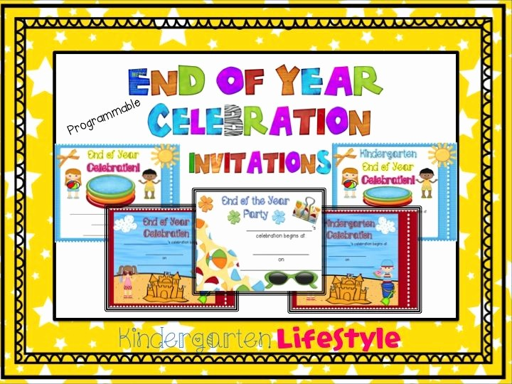 Year End Party Invitation Templates Inspirational 23 Best Images About Preschool End Of Year Celebration On