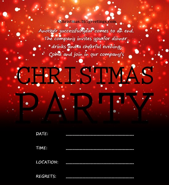 Year End Party Invitation Templates Unique Christmas Invitation Template and Wording Ideas