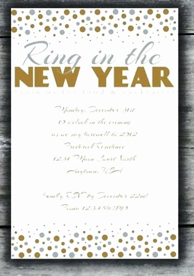 Year End Party Invitation Templates Unique Year End Party Invitation Templates to Bring Your Dream