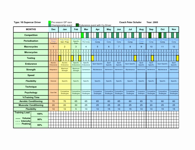Yearly Work Schedule Template Excel Lovely Yearly Training Calendar Template Free Calendar Template