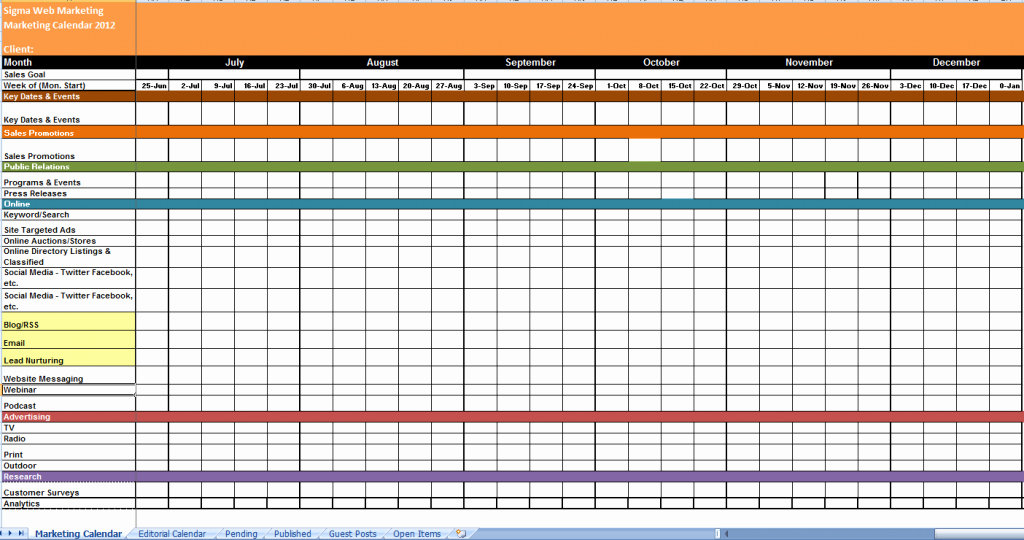 Yearly Work Schedule Template Excel Luxury 2018 Yearly Calendar Template Excel Spreadsheet Calendar