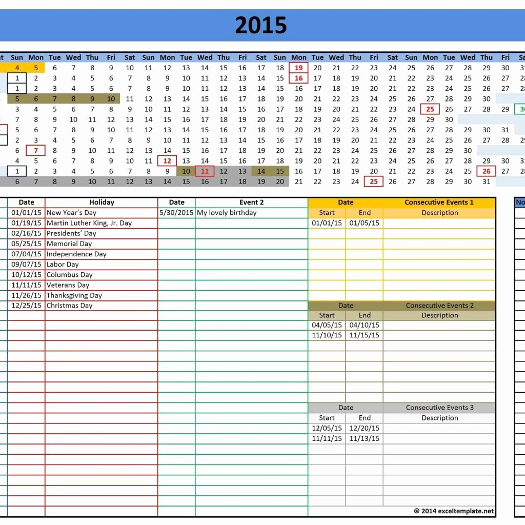 Yearly Work Schedule Template Excel New Monthly Work Schedule Template Excel and Yearly Work