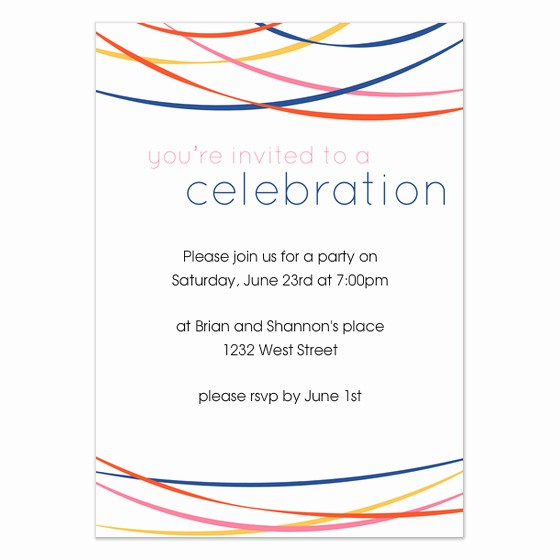 You Re Invited Template Word Awesome You Re Invited to A Celebration Invitations & Cards On