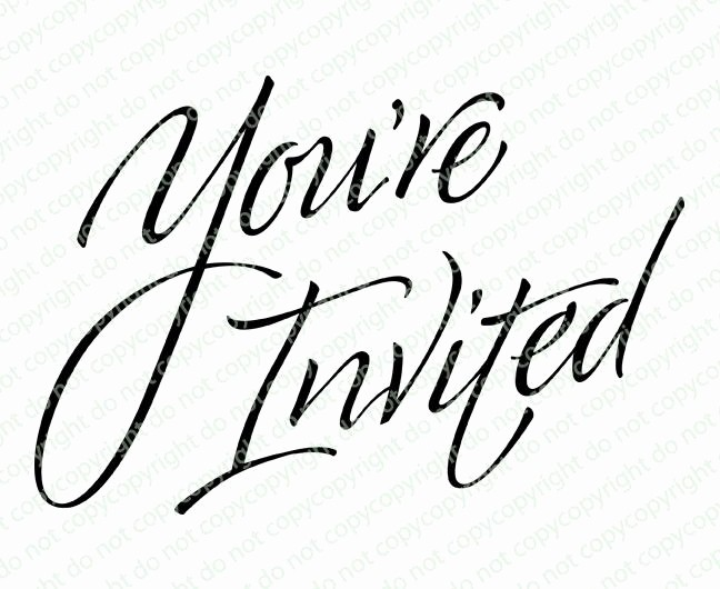 You Re Invited Template Word Best Of You Re Invited Word Art Celebration Templates