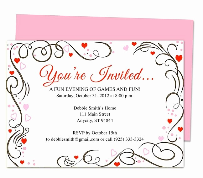 You Re Invited Template Word Elegant 17 Best Images About 25th & 50th Wedding Anniversary