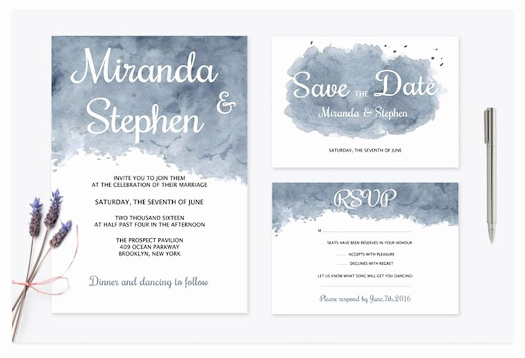You Re Invited Template Word Fresh 14 Modern Wedding Invite Templates for 2017 Envato