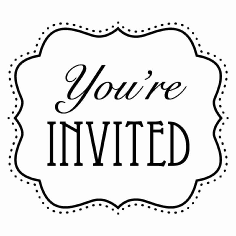 You Re Invited Template Word Luxury Clip Art Invitation Cliparts
