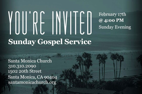You Re Invited Template Word Unique You're Invited Santa Monica Church Invites You to their