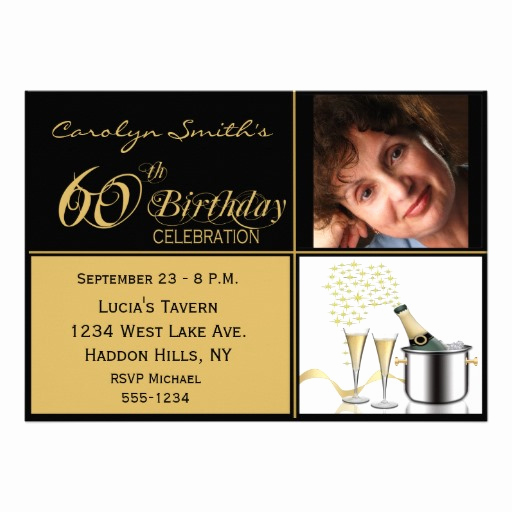 60th Birthday Invite Templates Elegant Free Printable 60th Birthday Invitations