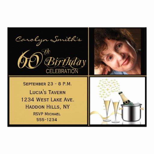 60th Birthday Invite Templates Elegant Free Printable 60th Birthday Invitations