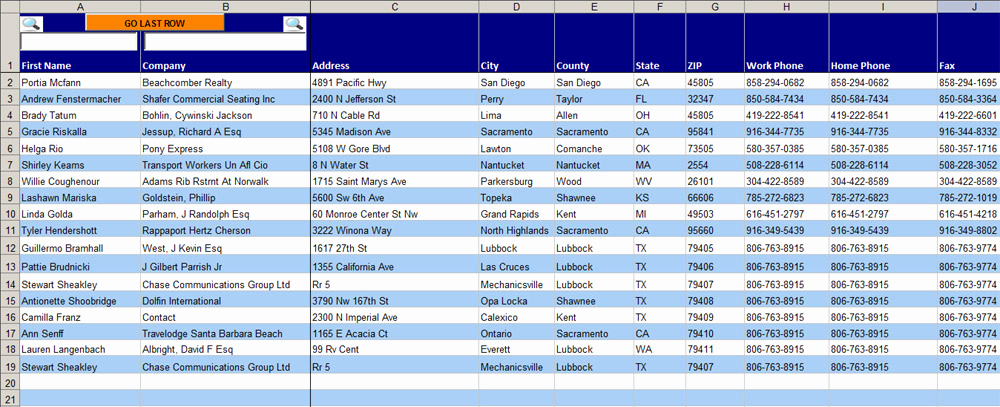 Address Book Template Excel Inspirational Excel Address Book