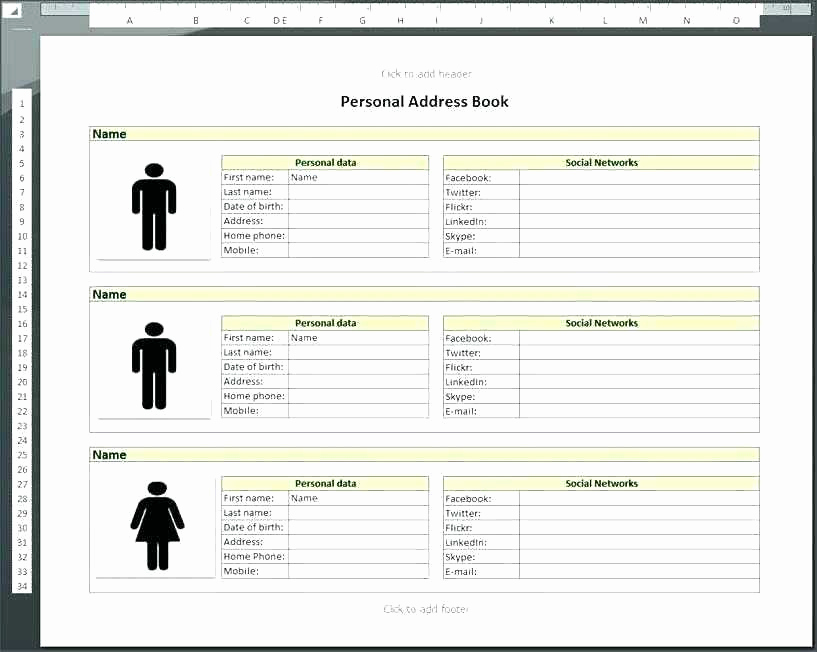 Address Book Template Excel Luxury Address Spreadsheet Address Spreadsheet Sheet Management