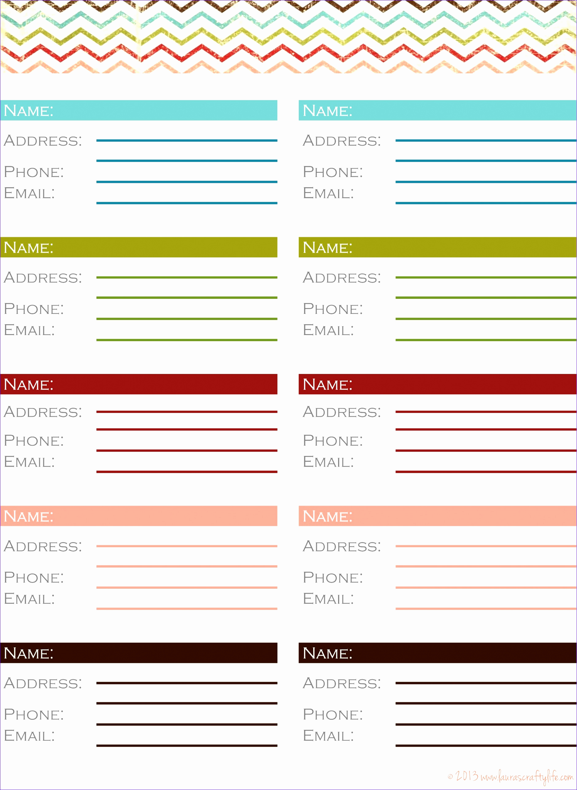 Address Book Template Excel Unique 10 Phone Book Excel Template Exceltemplates Exceltemplates