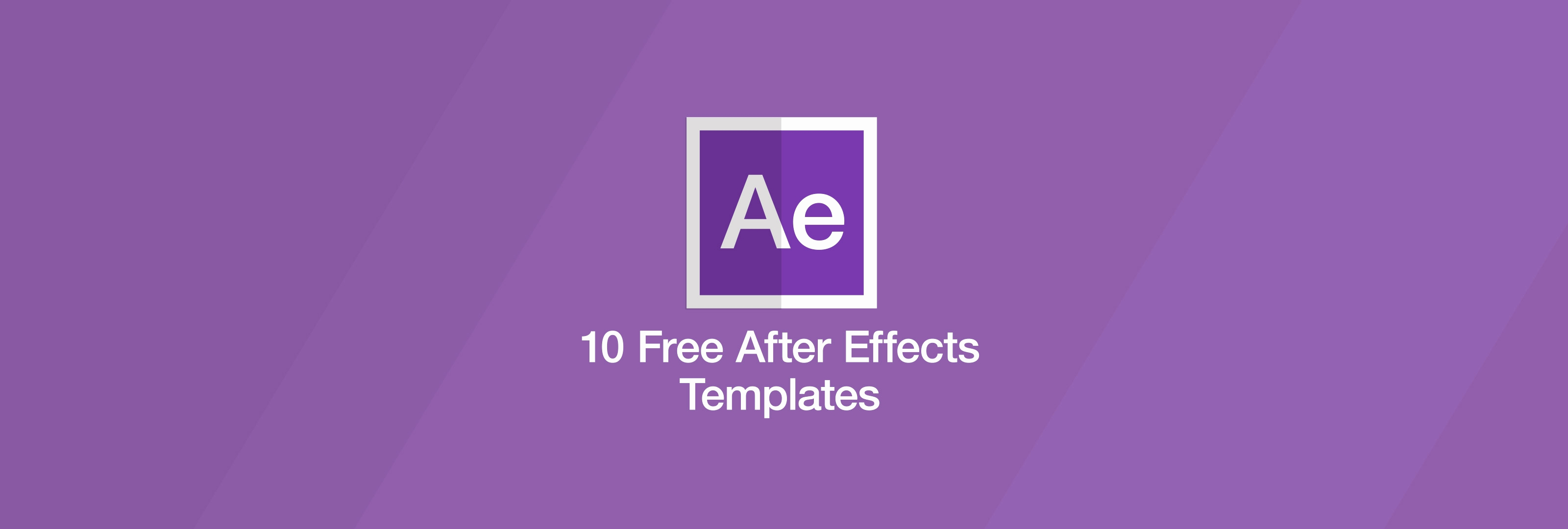 Adobe after Effect Template Free Awesome Free after Effects Templates
