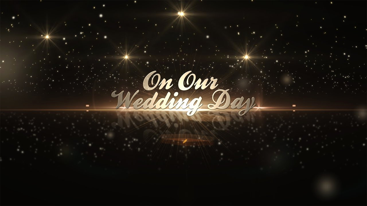 Adobe after Effect Template Free Beautiful after Effects Template Golden Wedding Pack