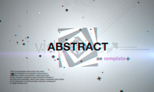 Adobe after Effect Template Free Inspirational 33 Abstract after Effects Templates