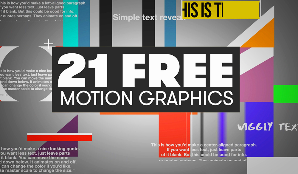 Adobe after Effect Template Free New 21 Free Motion Graphics Templates for Adobe Premiere Pro