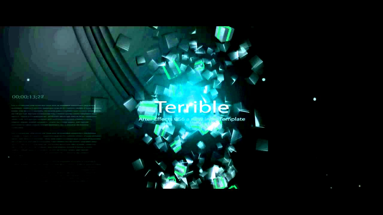 Adobe after Effect Template Free Unique Free Intro Template Adobe after Effects Cs6 Amazing