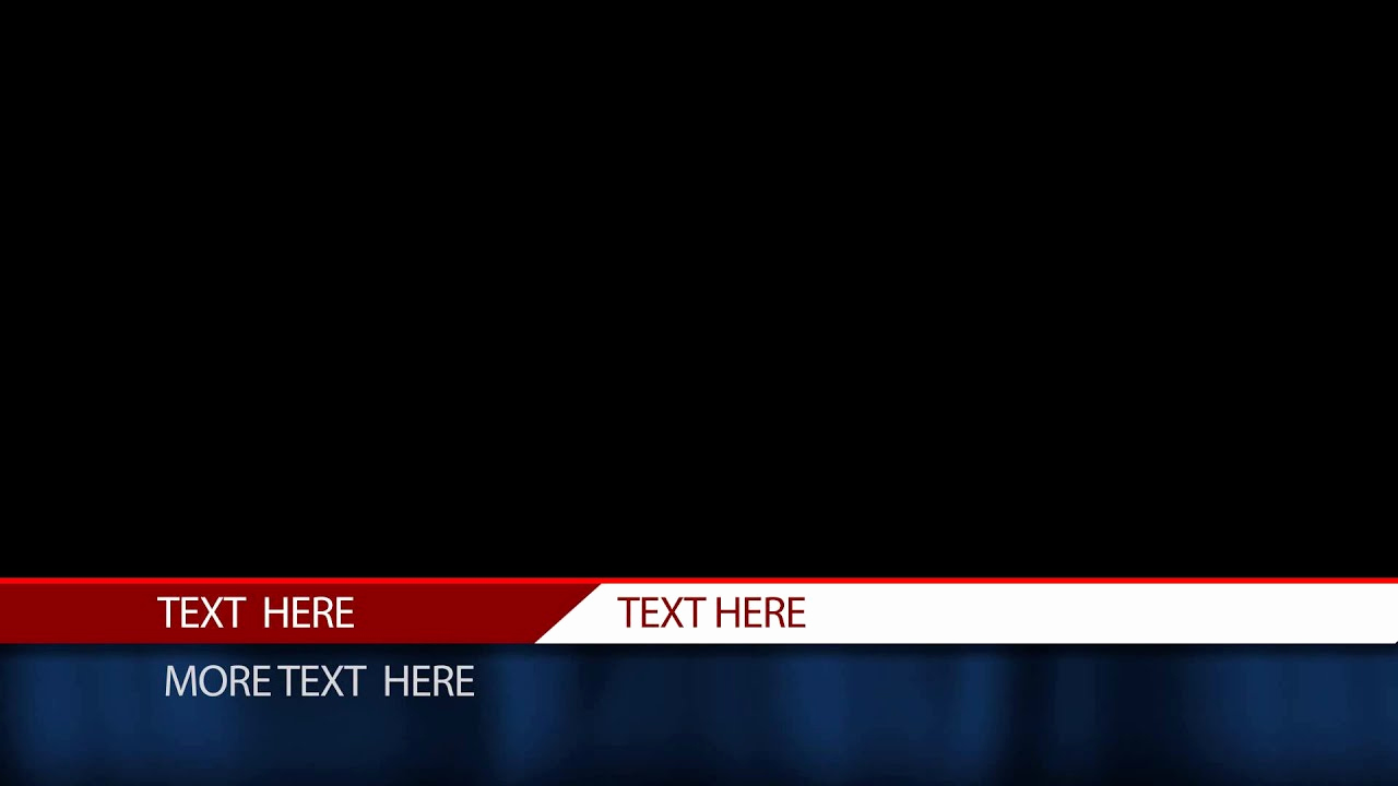 After Effect Lower Third Templates Luxury Free after Effects Lower Third Template Cable News