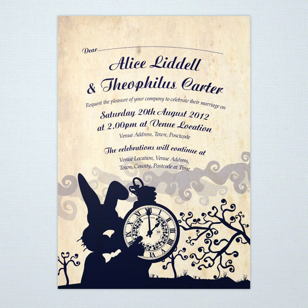 Alice In Wonderland Invitations Templates Best Of Alice In Wonderland Bridal Shower Tea Party Invitation