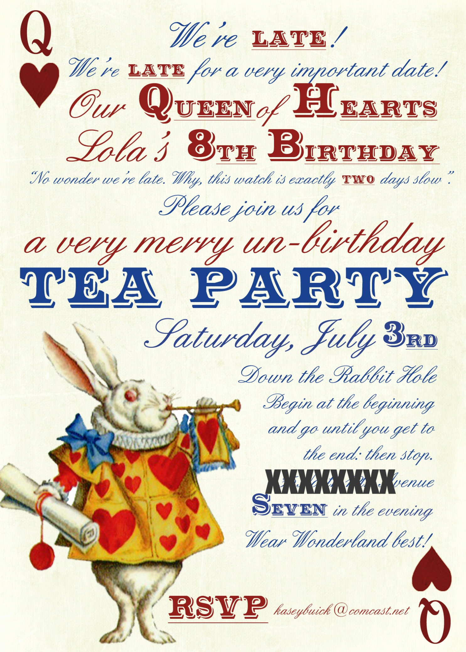 Alice In Wonderland Invitations Templates Fresh Party Invitation Templates Alice In Wonderland Party