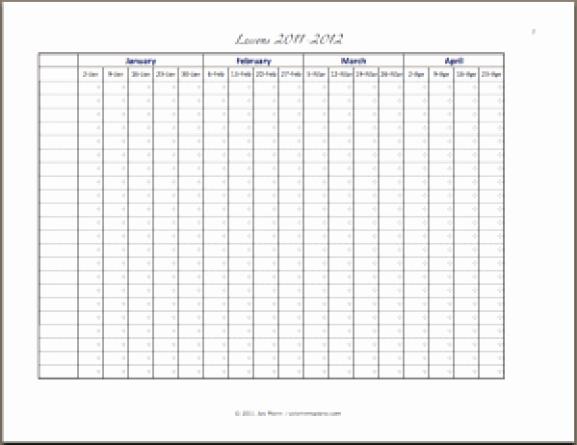 Attendance Sheet Template Excel Beautiful 9 Monthly attendance Sheet Templates Excel Templates