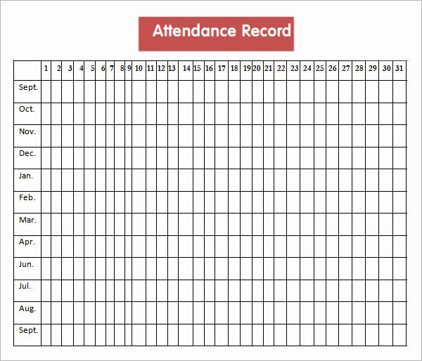 Attendance Sheet Template Excel Inspirational 16 attendance Sheet Templates Pdf Word Excel