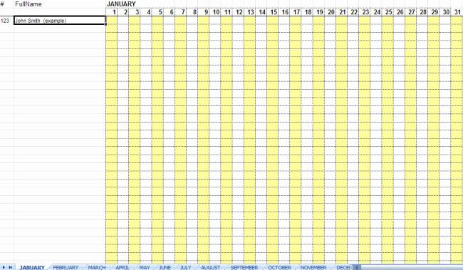Attendance Sheet Template Excel Inspirational 36 General attendance Sheet Templates In Excel Thogati