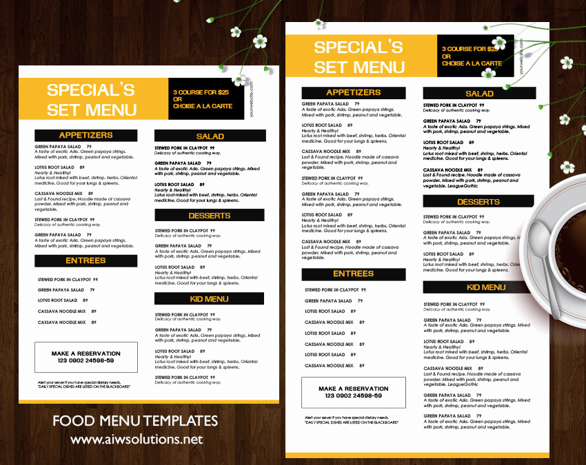 Bar Menu Template Free Awesome Design & Templates Menu Templates Wedding Menu Food