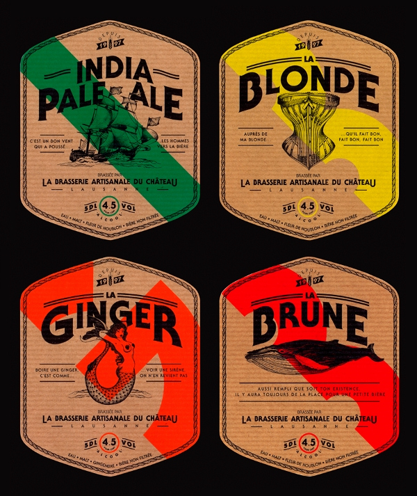Beer Label Design Template Awesome 42 Beer Label Designs