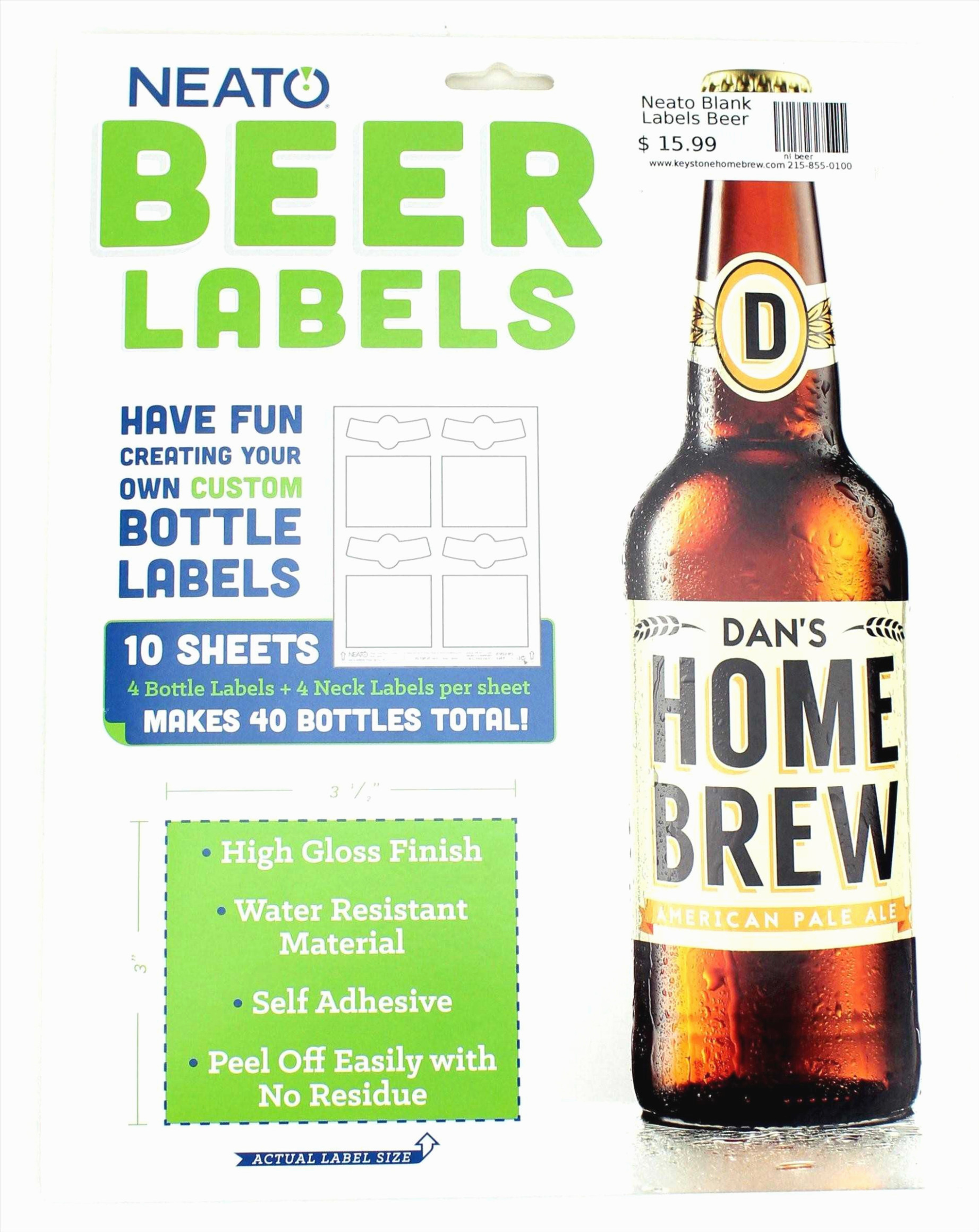 Beer Label Design Template Awesome the History Make Your Own