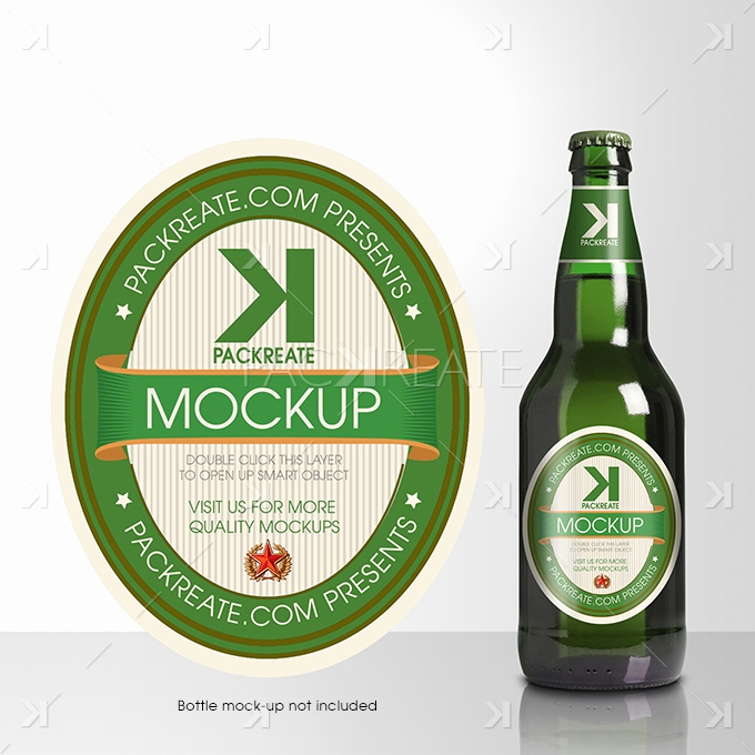 Beer Label Design Template Best Of Packreate Beer Bottle Label Psd Template