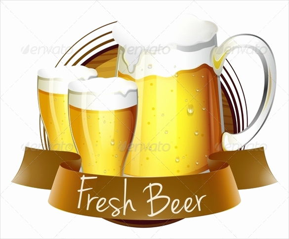 Beer Label Design Template Elegant Beer Label Template 27 Free Eps Psd Ai Illustrator