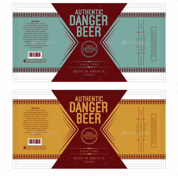 Beer Label Design Template Fresh 16 Cool Beer Label Design Templates – Desiznworld