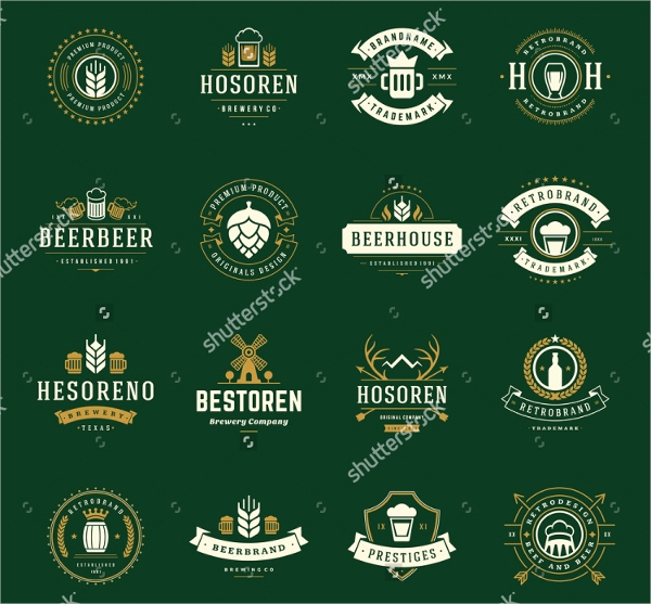 Beer Label Design Template Fresh 40 Creative Beer Label Designs