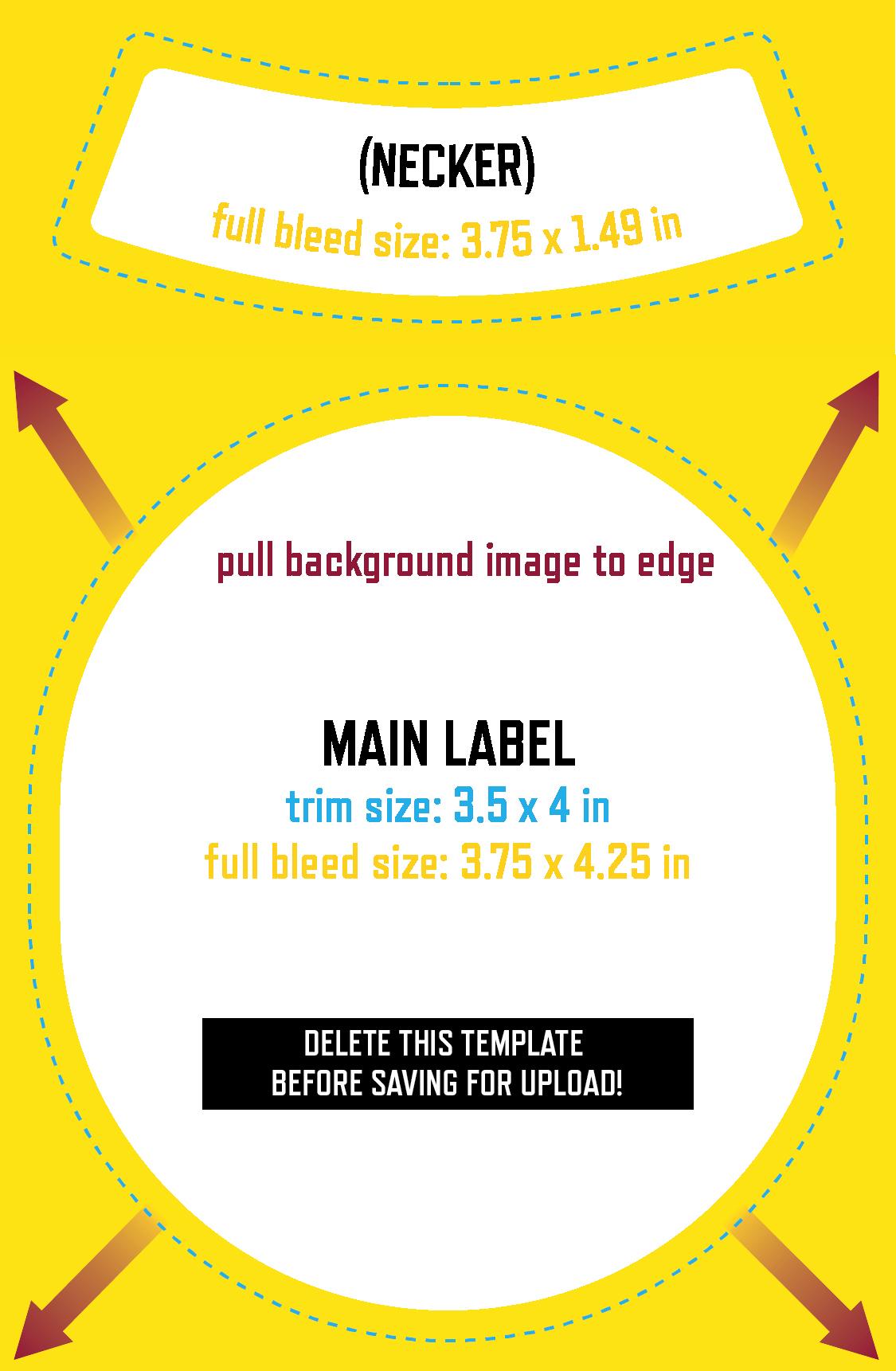 Beer Label Design Template Inspirational Uploading Your Own Design Grogtag