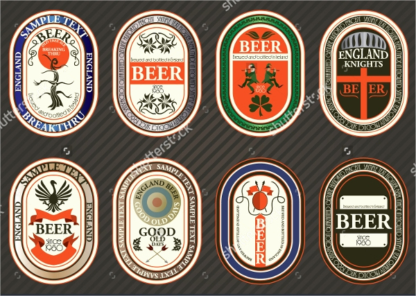 Beer Label Design Template Lovely 40 Creative Beer Label Designs