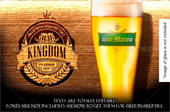 Beer Label Design Template New 29 Beer Label Templates – Free Sample Example format