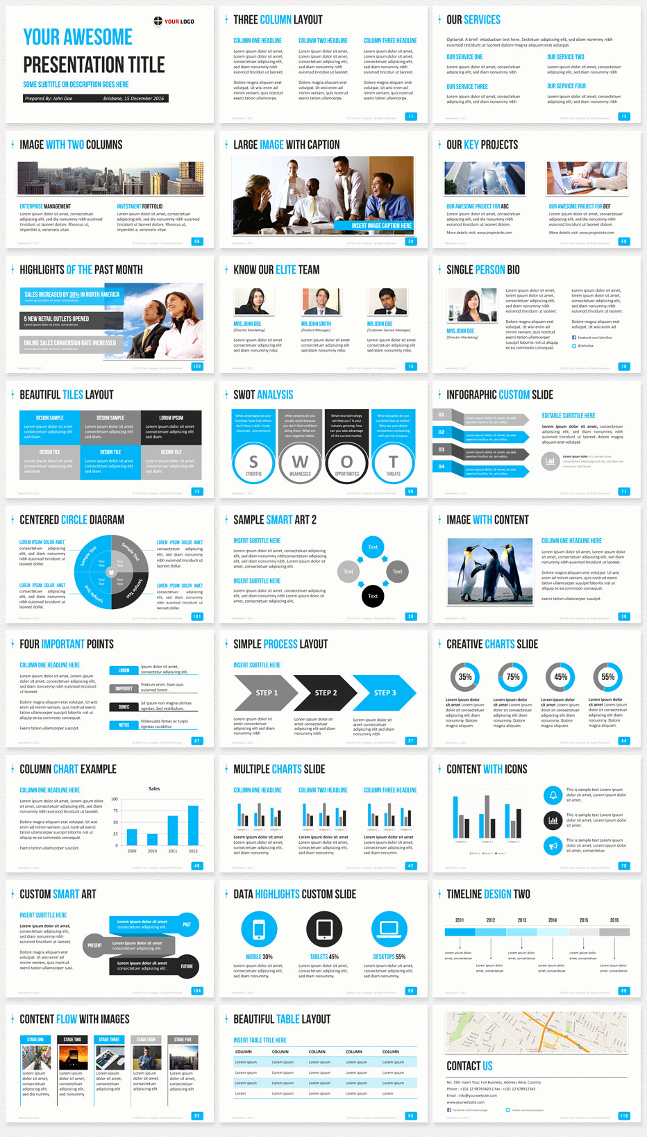 Best Powerpoint Templates Free Download Luxury Ultimate Professional Business Powerpoint Template 1200
