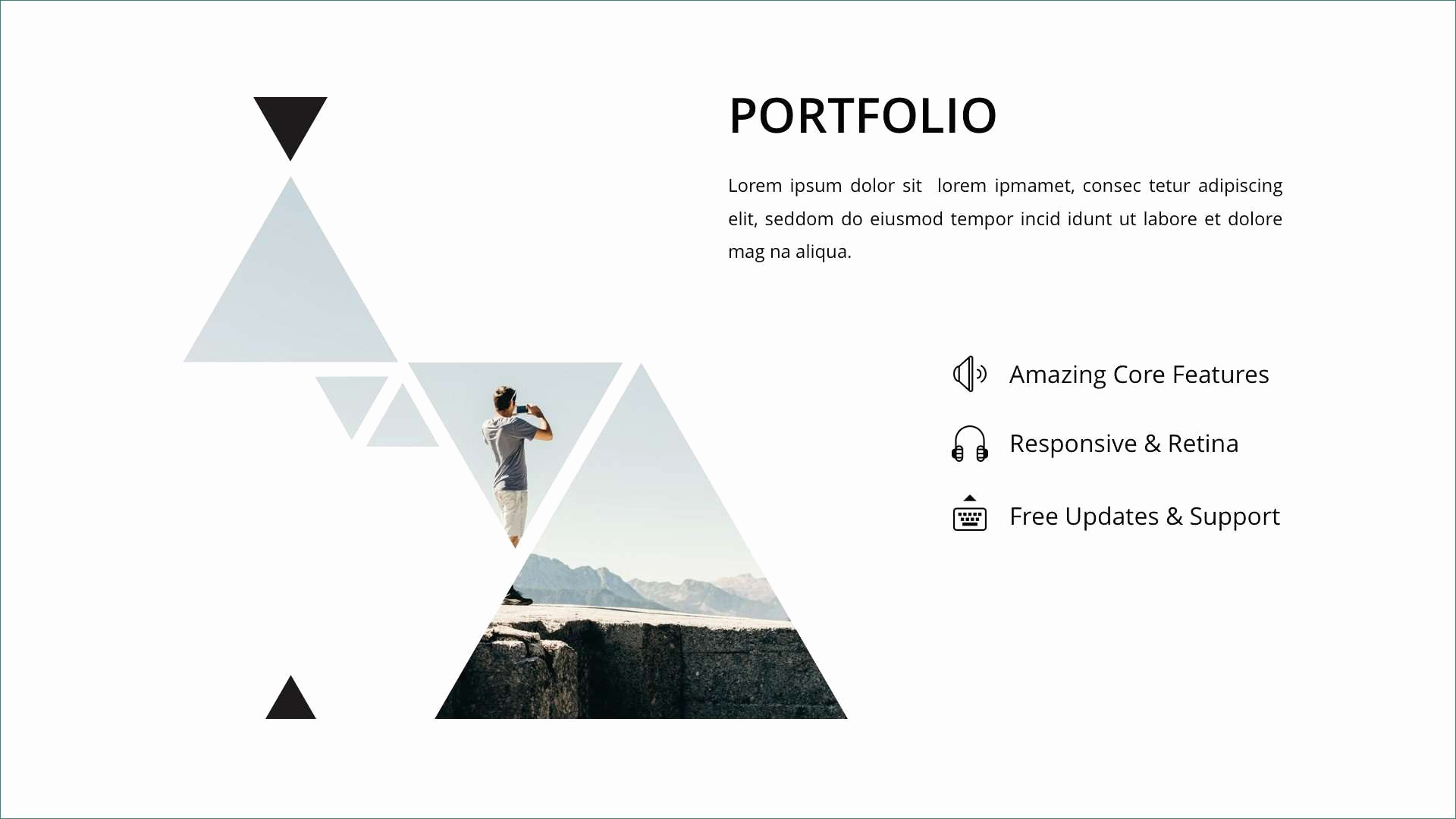 Best Powerpoint Templates Free Download New London Free Minimal Powerpoint Template Powerpoint
