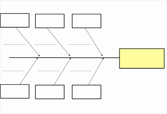 Blank Fishbone Diagram Template Awesome Fishbone Diagram Template Free Templates