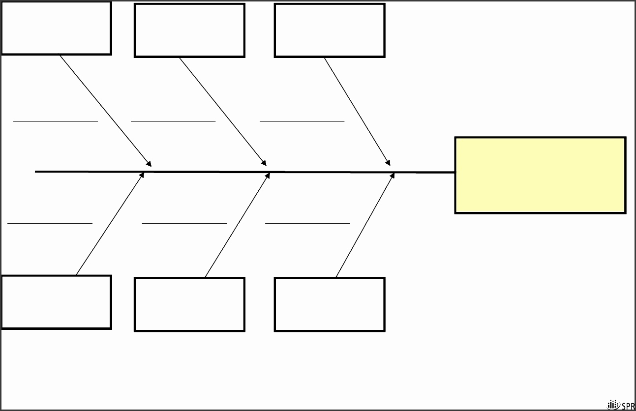 Blank Fishbone Diagram Template New 5 Blank ishikawa Diagram Template Sampletemplatess