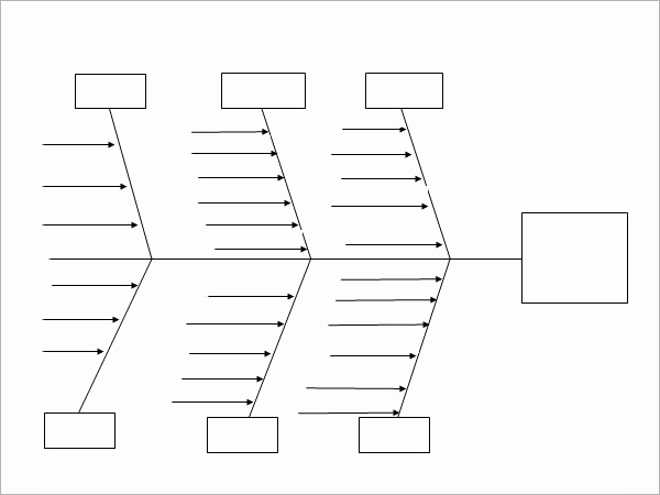 Blank Fishbone Diagram Template New Sample Fishbone Diagram Template 12 Free Documents In