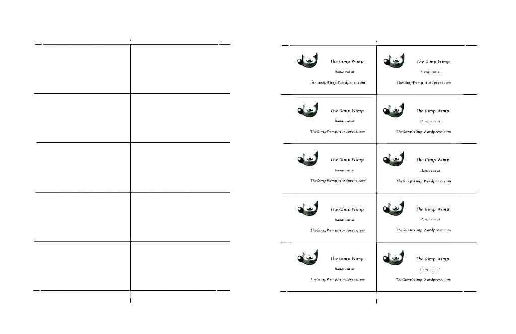 Blank Place Card Template Beautiful Blank Place Card Template