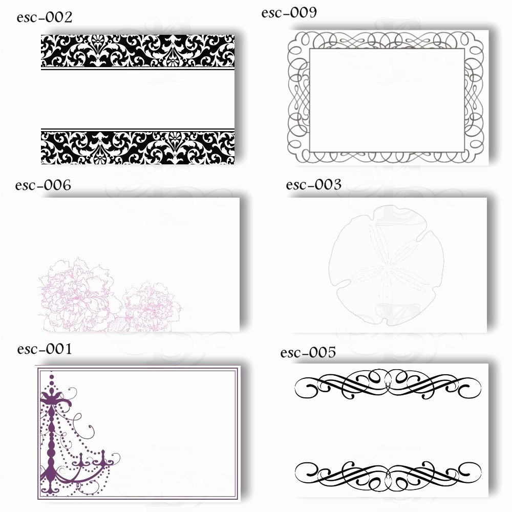 Blank Place Card Template Best Of Name Card Template