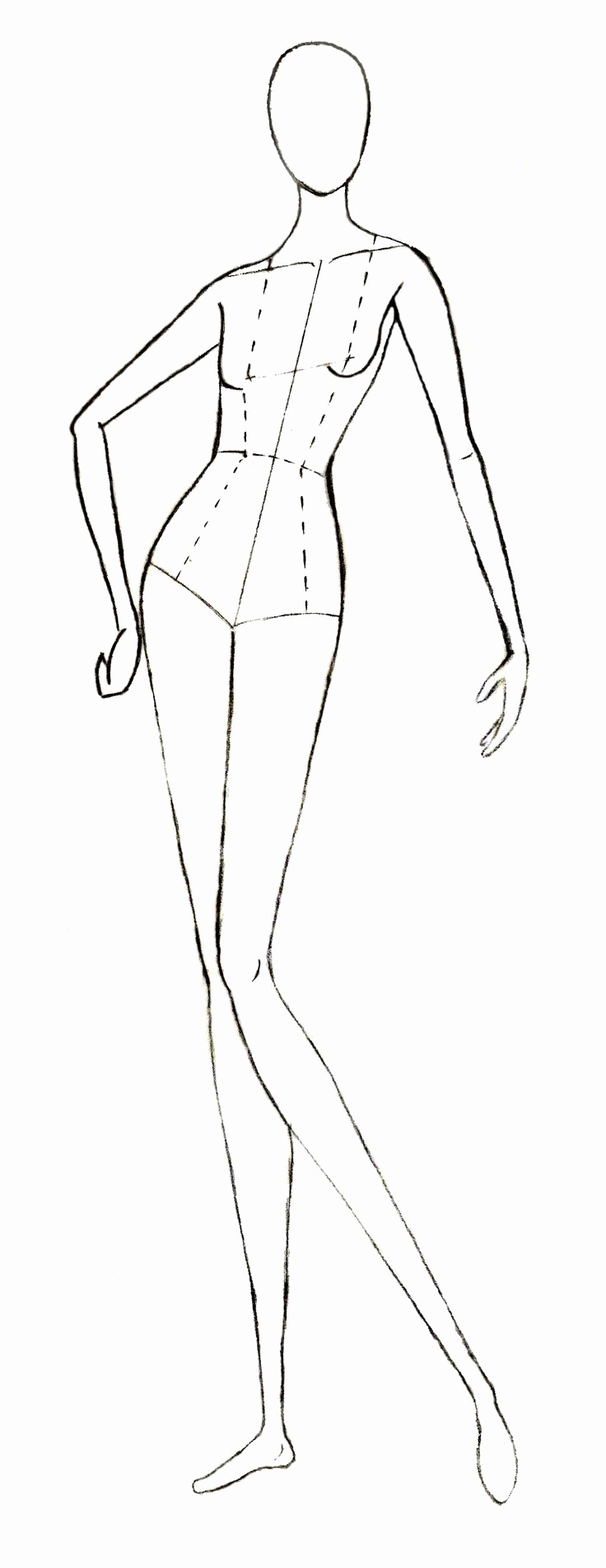 Body Template for Fashion Design Beautiful 46 Best Images About Templates On Pinterest