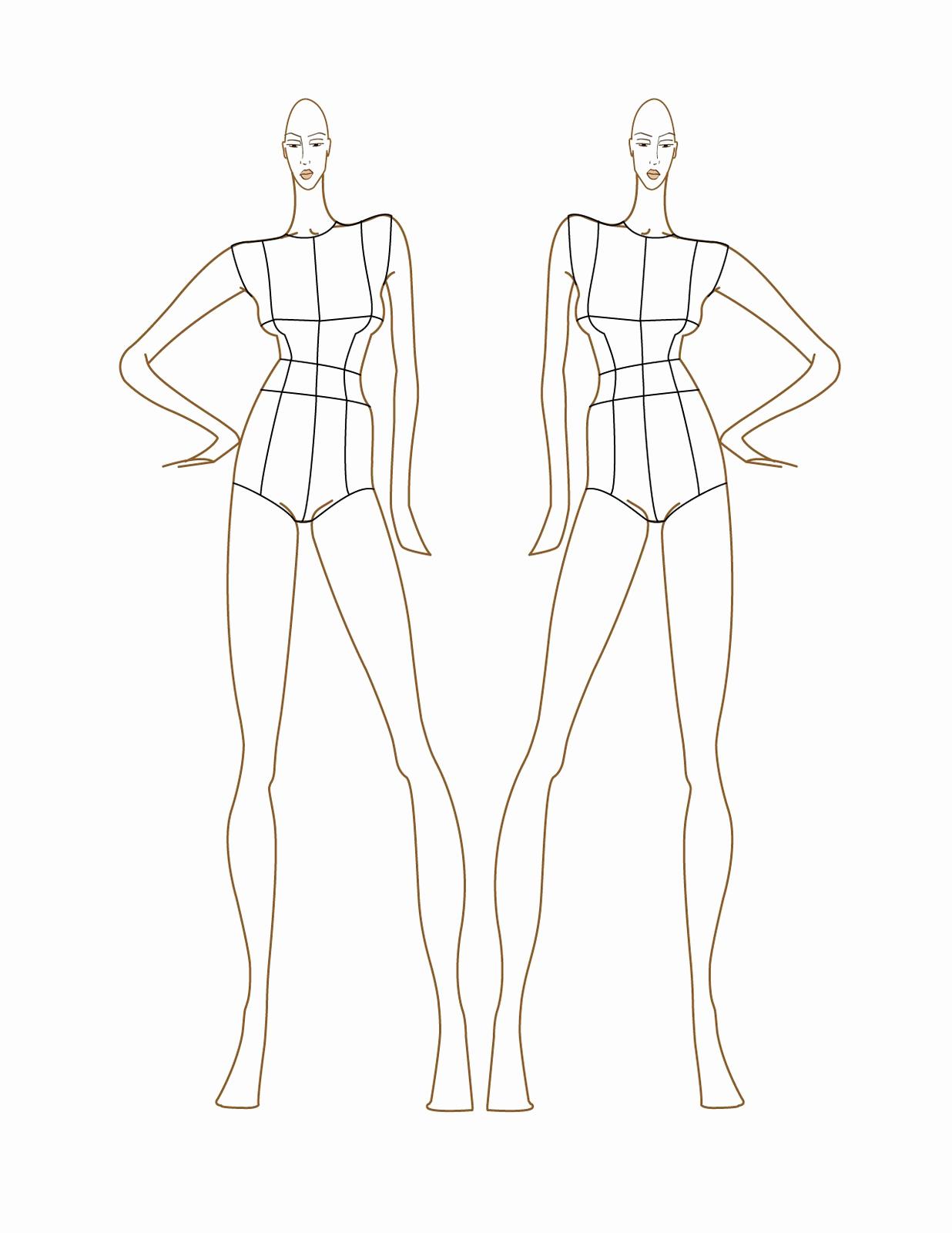 Body Template for Fashion Design Elegant 13 Clothing Design Templates for Men Fashion