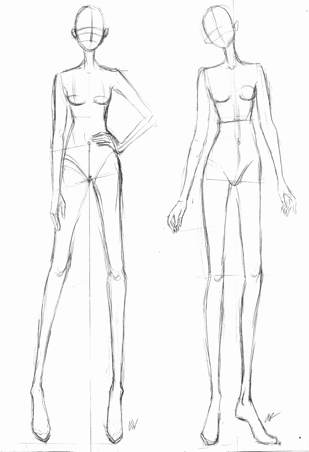 Body Template for Fashion Design Fresh Blank Fashion Body Templates Coloring Pages