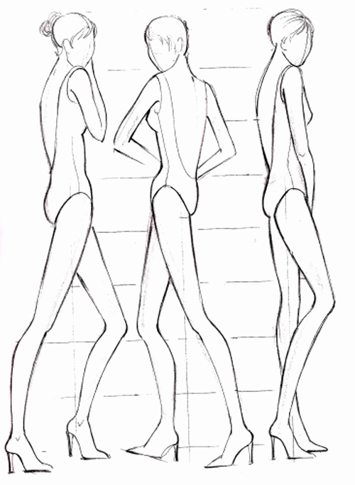 Body Template for Fashion Design Lovely 1000 Images About Drawing Body On Pinterest